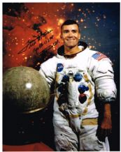 Fred Haise Autograph Signed Photo - Apollo 13